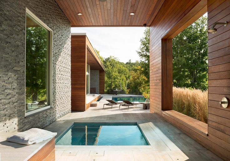 inset hot tub, contemporary hot tub & pool
