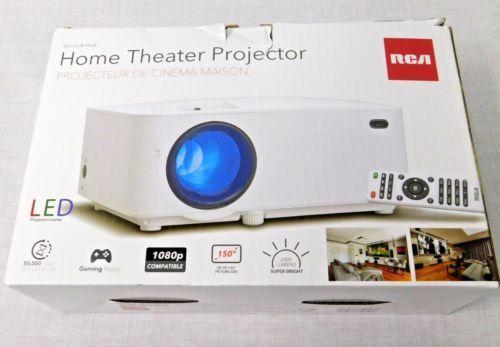 RCA RPJ116 RPJ 116 2000 LUMENS LED Projector 1080P 1080 P HDMI up to
