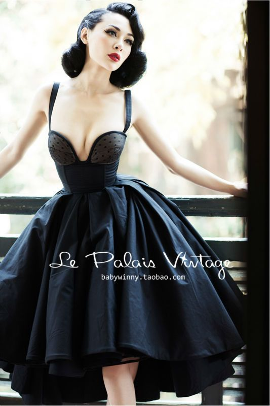 Le Palais Vintage limited grace amazing heavy corset type fishbone dovetail big puff dress/ ball bown from Reliable dress spike suppliers on Vintage Palace  | Alibaba Group