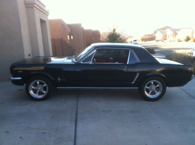 1965 mustang coupe... I want one...
