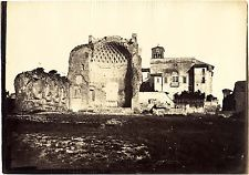 Tempio di Venere 1860 Roma