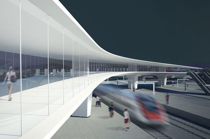Transport Interchange - Monk Mackenzie Architects