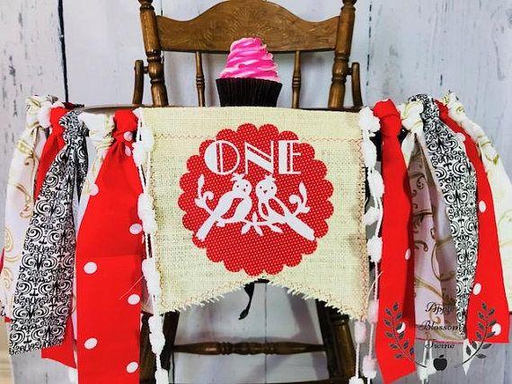 WINTER WONDERLAND Birthday High Chair Highchair Banner Party