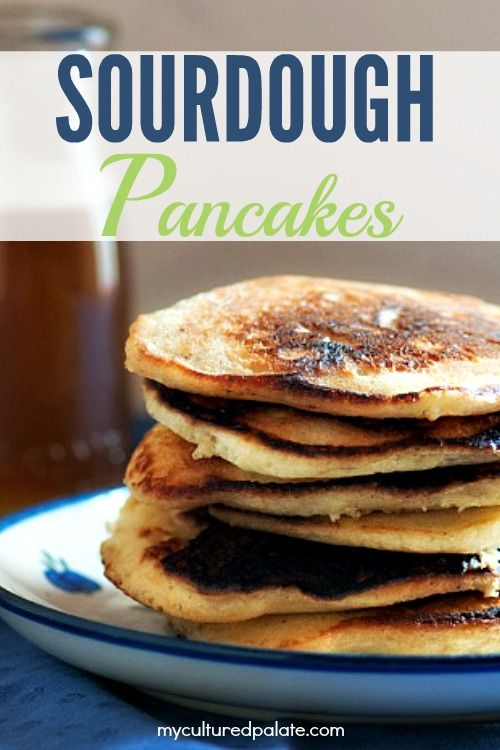 What's better than box mix pancakes? Sourdough pancakes are tastier and healthier than the boxed alternative. Get the recipe here!