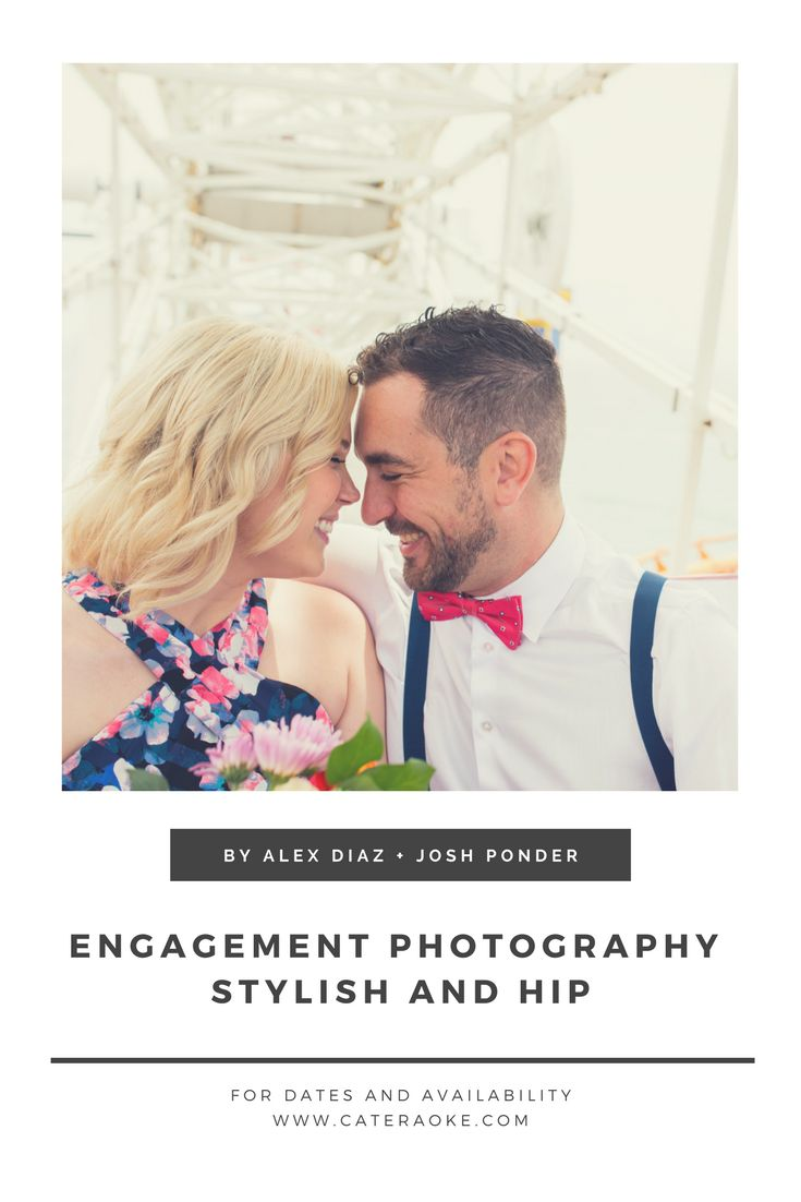 Santa Monica Engagement Photo Ideas. Alex Diaz and Josh Ponder are Los Angeles Wedding Photographers and Wedding Planners providing services all over Southern California from San Diego to Santa Barbara.