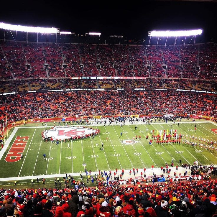A beautiful show of Arrowhead stadium with the KC #Chiefs entering. Thanks @bpcump63!  #SuperTailgate #tailgate #tailgating #win #letsgo #gameday #travel #adventure #stadium #party #sport #ESPN #jersey #sports #league #SportsNews #score #love #Football #NFL