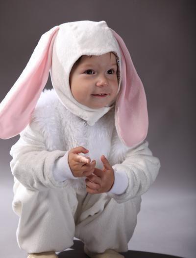 Карнавальный костюм ушки зайчика