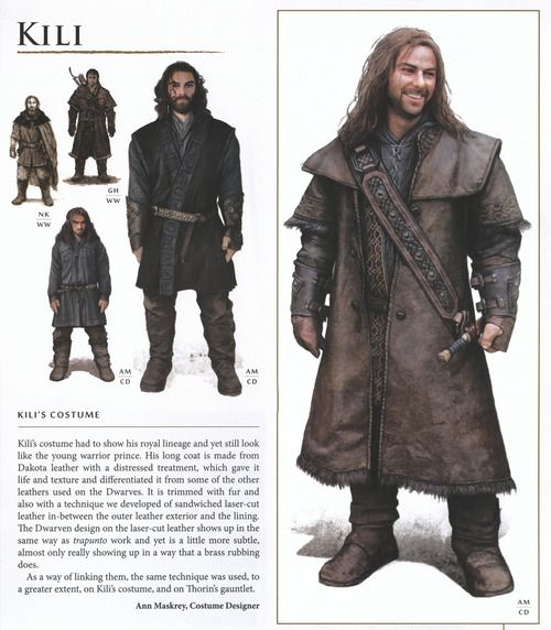 LARP costume The Hobbit: An Unexpected Journey Costume and props