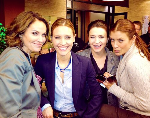 Amy Brenneman, KaDee Strickland, Caterina Scorsone and Kate Walsh -   female cast of Private Practice