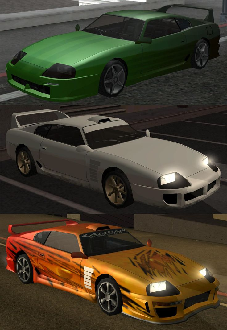 Modifications for the Jester from GTA SanAndreas | Gaming