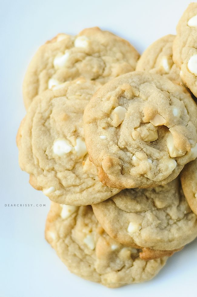 White Chocolate Macadamia Nut Cookies - These classic cookies are always a crowd pleaser.