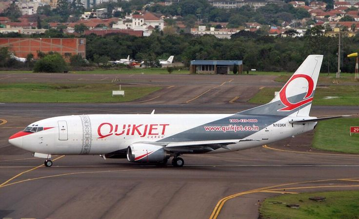 Quikjet Cargo Airlines, India - Boeing 737-300F freighter