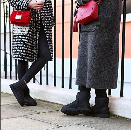 Mini bags and boots