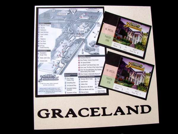 Memphis - Elvis' Graceland Mansion