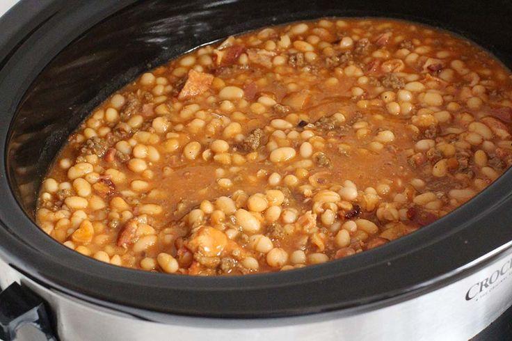 Best 25 Crockpot Baked Beans Ideas On Pinterest Baked