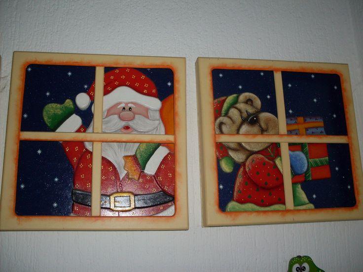 Cajas de madera decoradas buscar con google christmas - Cajas de madera decoradas ...