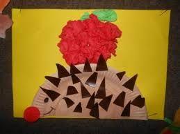 Znalezione obrazy dla zapytania prace plastyczne dla dzieci przedszkolnych jesień