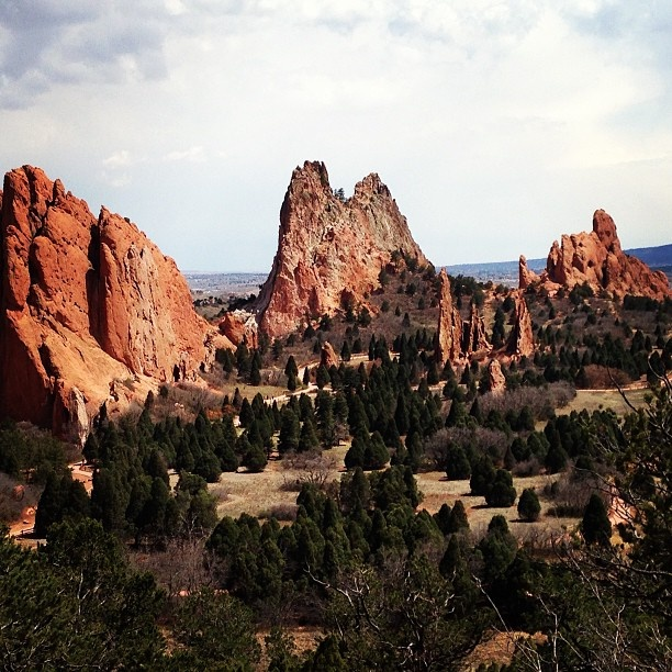 17 Best Images About Garden Of The Gods Colorado On Pinterest Gardens Utah And Night