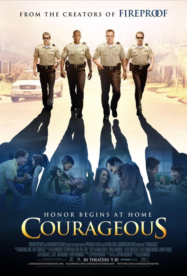 Couragous. A wonderful movie! Opened up my eyes!