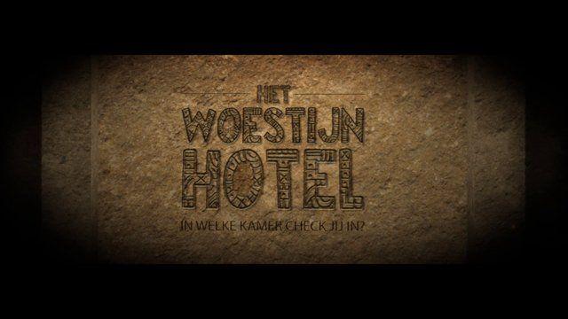 """De officiële boektrailer bij het boek """"Het Woestijnhotel""""."""