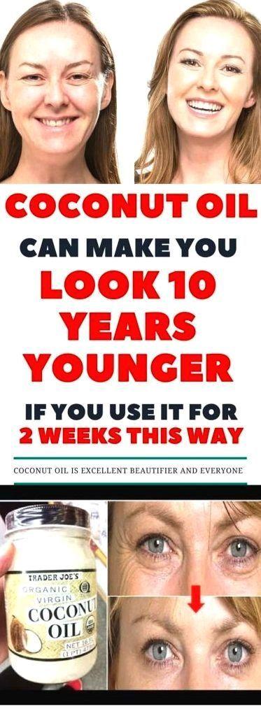Dies ist, wie man Kokosnussöl und Backnatron verwendet, um 10 Jahre jüngeres Beautifu