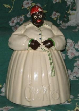 Americana Vintage McCoy Mammy Cookie Jar - my Grandma had one just like this that was always full when we went to visit her.