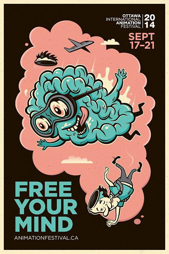 Free your mind | art / illustration / sketch | Pinterest | Design, Illustration and Animation