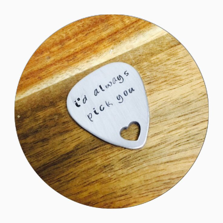 Guitar Pick | Custom Guitar Pick | Gift for him | Personal Gift | Musician Gift by KellectiveDesigns on Etsy https://www.etsy.com/listing/241004853/guitar-pick-custom-guitar-pick-gift-for