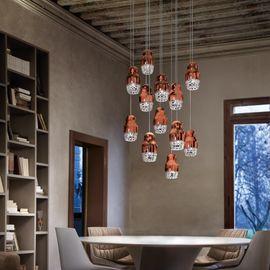 Потолочный подвесной светильник FEDORA Axo Light SPFEDOR3ROBCGU1 в ассортименте…