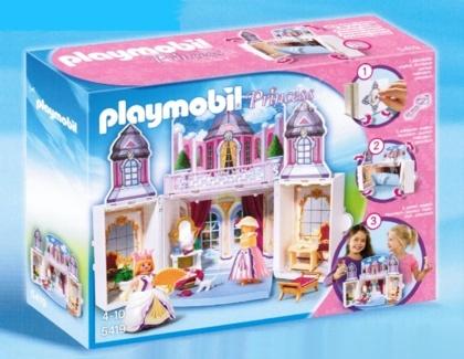 """castle   Playmobil 5419 Aufklapp-Spiel-Box """"Schlösschen"""""""