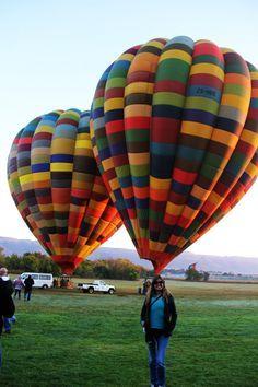 África do Sul: Voando de Balão Perto de Joanesburgo http://www.aprendizdeviajante.com/