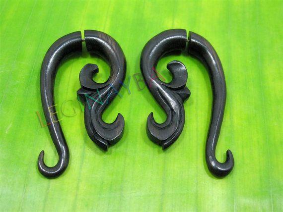 XS wooden organic eco jewelry by Leginayba on Etsy, $6.99  #organic #eco #natural #WoodAccessories #Earrings #Bali