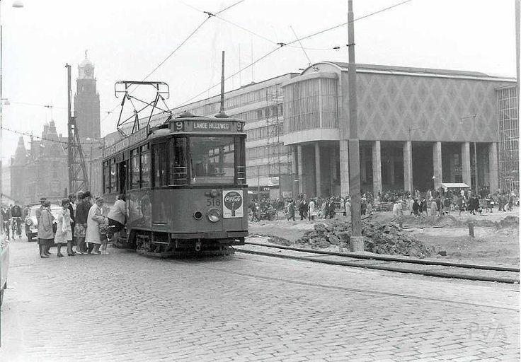 Coolsingel in de jaren zestig.