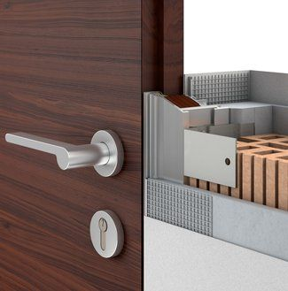 AGS - Systems: Flush door