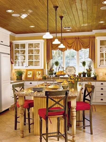 country chic kitchen home decor country chic wood yellow red