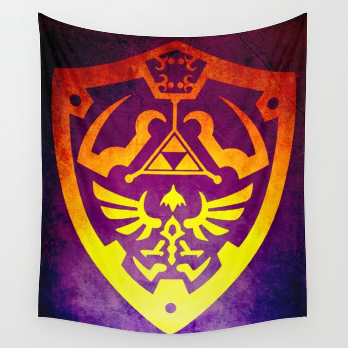 25% Off Art Prints, Tapestries and All Wall Art With Code: LETSHANG . Buy Zelda Shield II Wall Tapestry by scardesign. #style #walltapestry #dorm #campus #39 #kidsroom #blue #giftideas  #gifts #giftideas #family #geek #geekgifts #popular #onlineshopping #shopping #gaming #gamer #zelda #sales #sale #discount #deals #save #thelegendofzeldatapestry #thelegendofzelda #zeldashield #gaminggifts #gamergifts #games #videogames #kids #gamingtapestries #society6