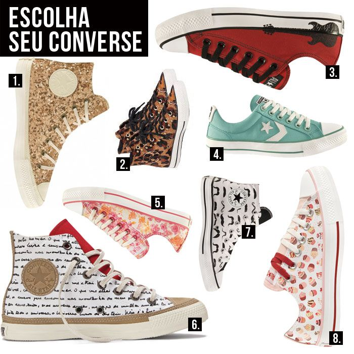 Queridinho entre os punks e os roqueiros, o tênis Converse é um daqueles calçados que são verdadeiros ícones e nunca saem de moda. A paixão é tão grande que alguns fãs fazem até tatuagens, como esta que abre o post. Apesar de ser tão básico e popular, muita gente tem dúvidas na hora de usar Converse (que para mim será...