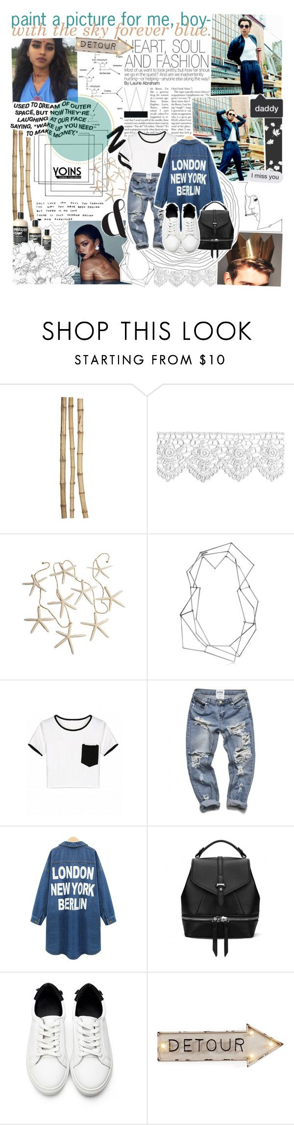 """all my kisses, say you'll miss it and can't you can't forget me ; yoins"" by oreokk22 ❤ liked on Polyvore featuring Crate and Barrel, BANCI GIOIELLI, Dot & Bo, yoins, yoinscollection and loveyoins"