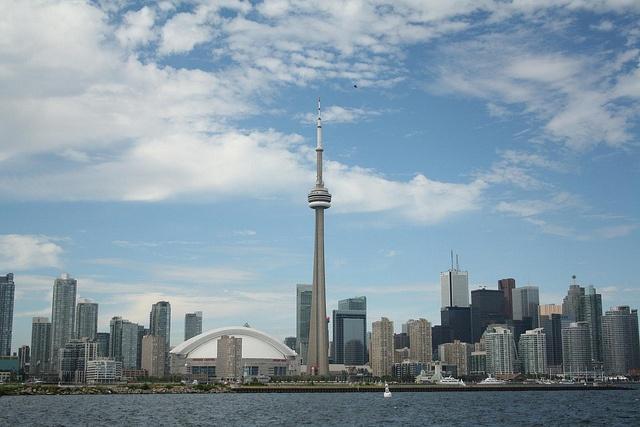 From Toronto's Island.