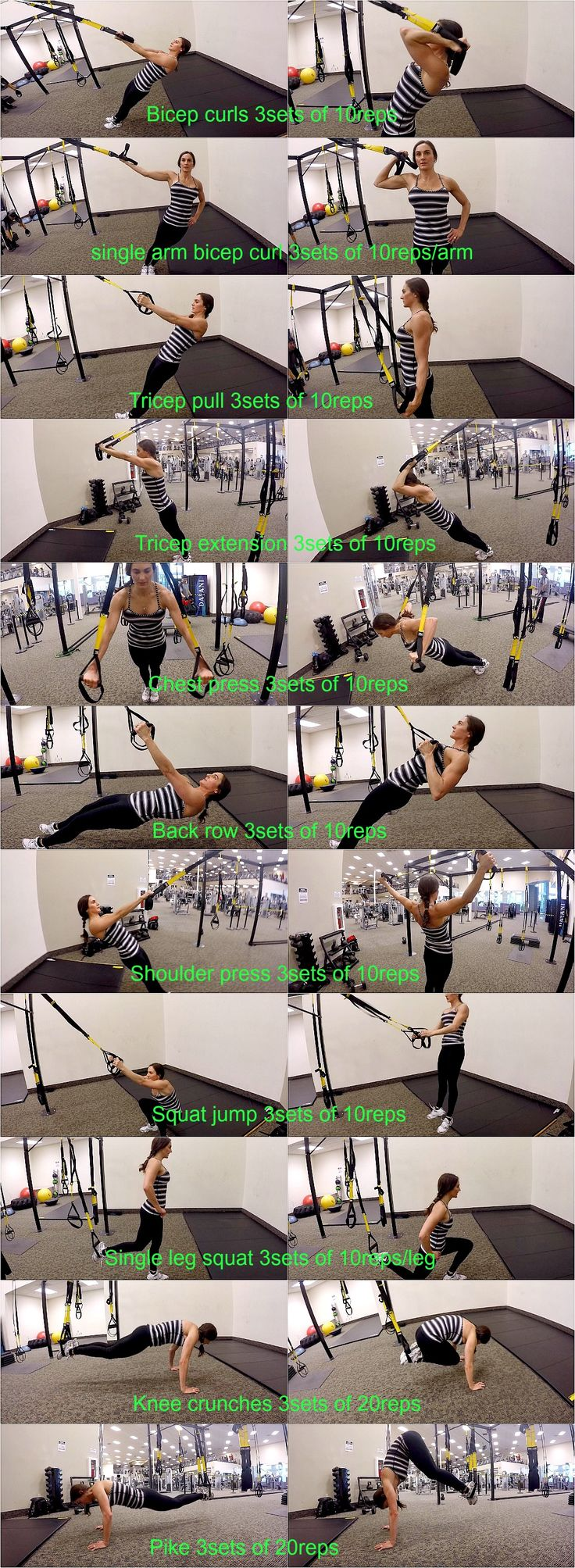 10 Weeks To Fitness-Day 47: Active Rest TRX