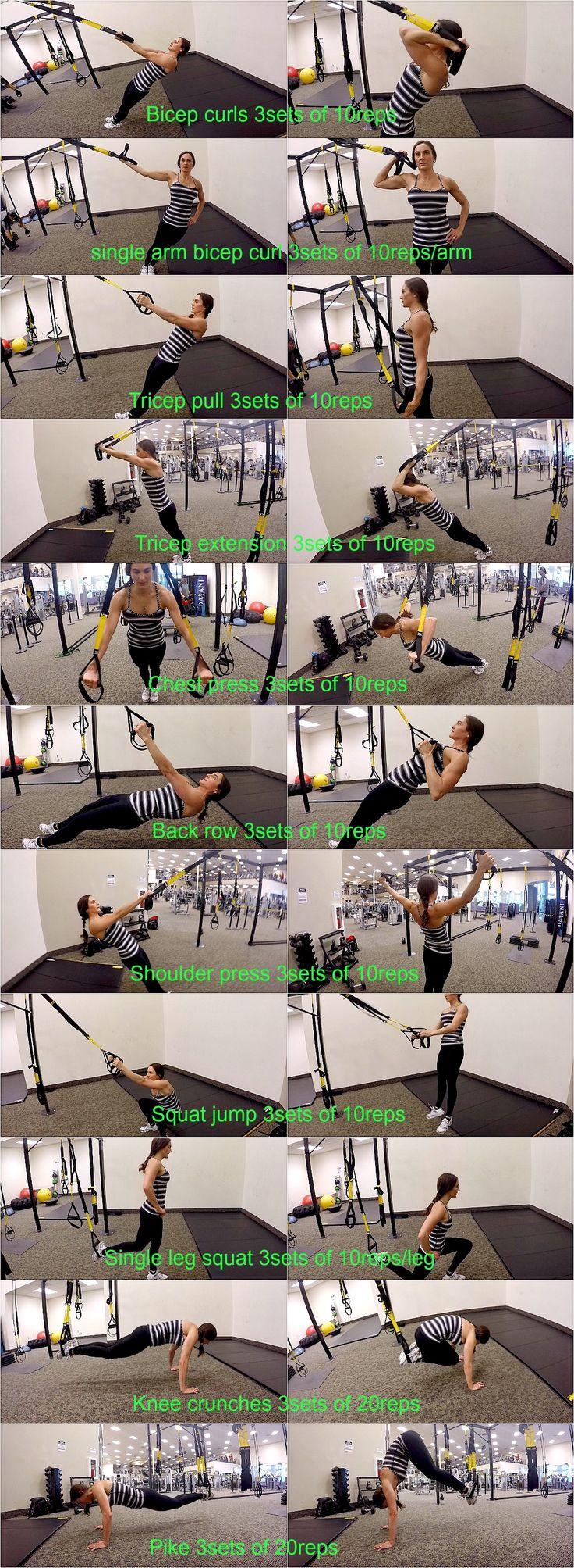 10 Weeks To Fitness-Day 47: Active Rest TRX - http://www.amazon.de/dp/B00RLH0M6C http://www.amazon.co.uk/dp/B00RLH0M6C