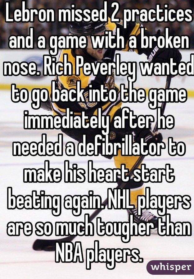 Community Post: 12 Hockey Confessions Discovered on Whisper