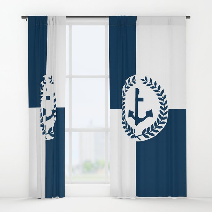 Your Drapes Don T Have To Be So Drab Nautical Themed Design Windowcurtains By Society6comanastasia Society6 Society6 Ukh Nautical Theme Design Curtains