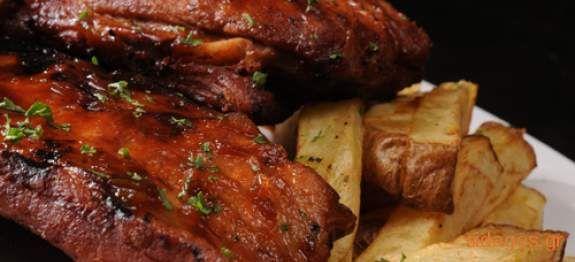 Χοιρινό στη λαδόκολλα - συνταγές μαγειρικής - κρέας