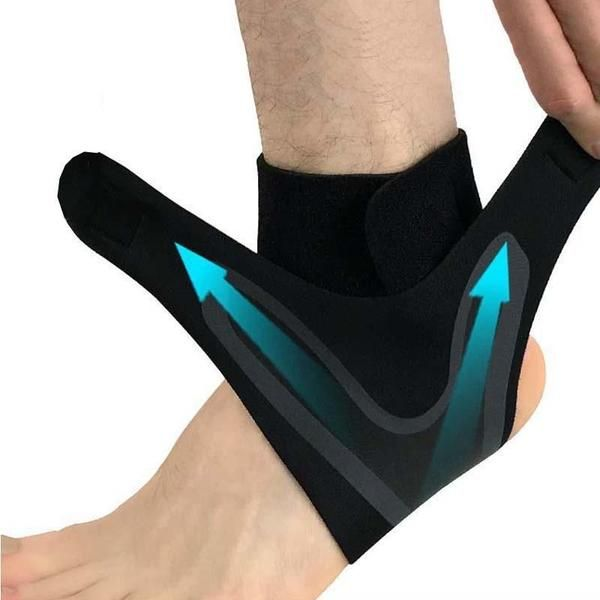 Protector Ankle Support Brace Foot Guard Injury Wrap Elastic Strap Band AL