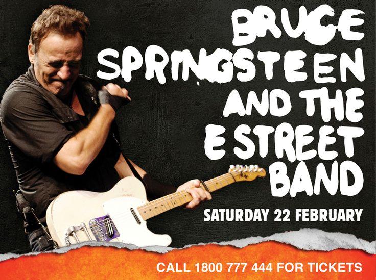 Hope Estate - Hunter Winery - Bruce Springsteen Feb 2014