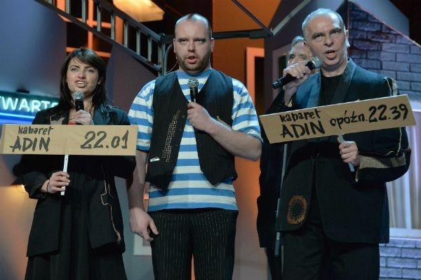 W studiu zjawił się również Kabaret Adin (fot. I. Sobieszczuk/TVP)