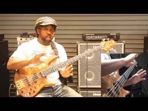 """Victor Wooten's """"secret"""" harmonic technique for the """"Sword and Stone"""" ba..."""