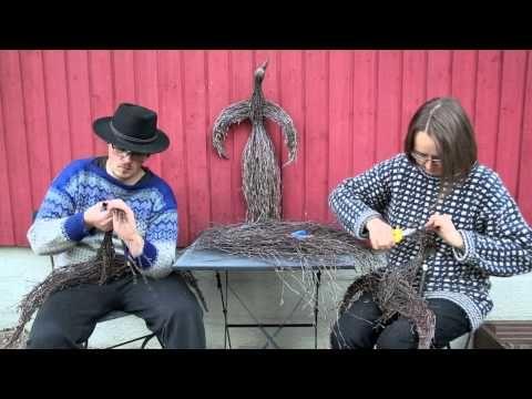 ▶ Kuinka tehdään LINTU koivurisuista - YouTube