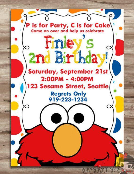 This Item Is Unavailable Etsy Elmo Invitations Birthday Invitations Kids Elmo Birthday Invitations